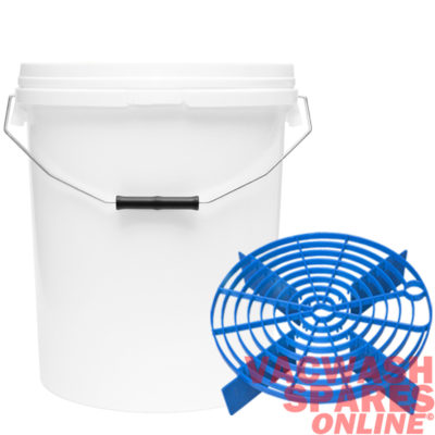 20 Litre Bucket & Scratch Shield Blue