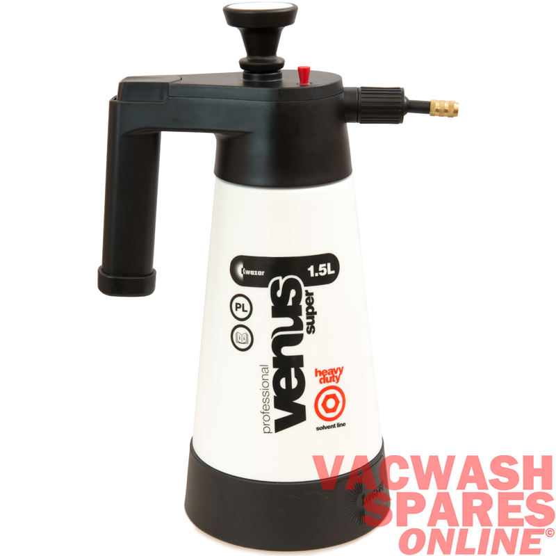 kwazar solvent compression sprayer 1.5 litre capacity