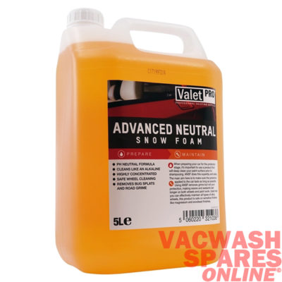 ValetPro Advanced pH Neutral Snow Foam 5 Litre