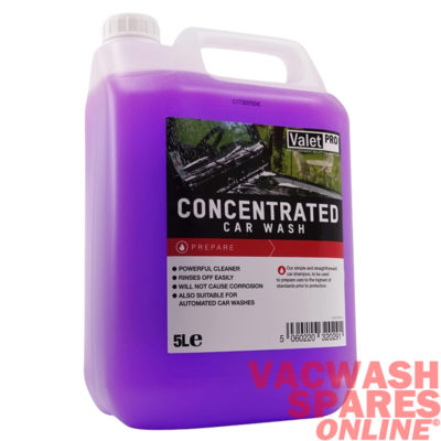 ValetPro Concentrated Car Wash 5 Litre