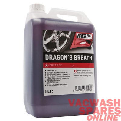 ValetPro Dragons Breath Wheel Cleaner 5 Litre