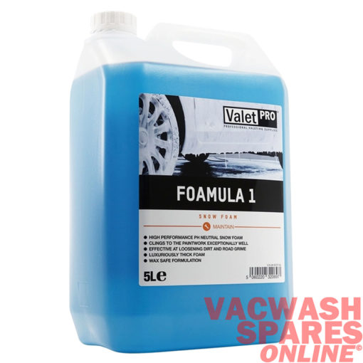 ValetPro Foamula 1 pH Neutral Snow Foam 5 Litre