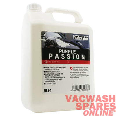 ValetPro Purple Passion Pre-Wax Cleanser 5 Litre