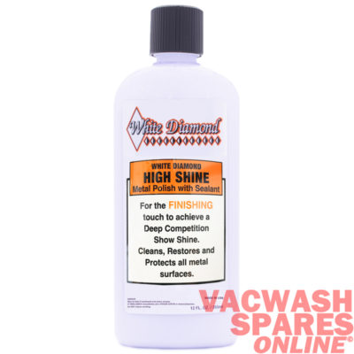 White Diamond High Shine Metal Polish & Sealant