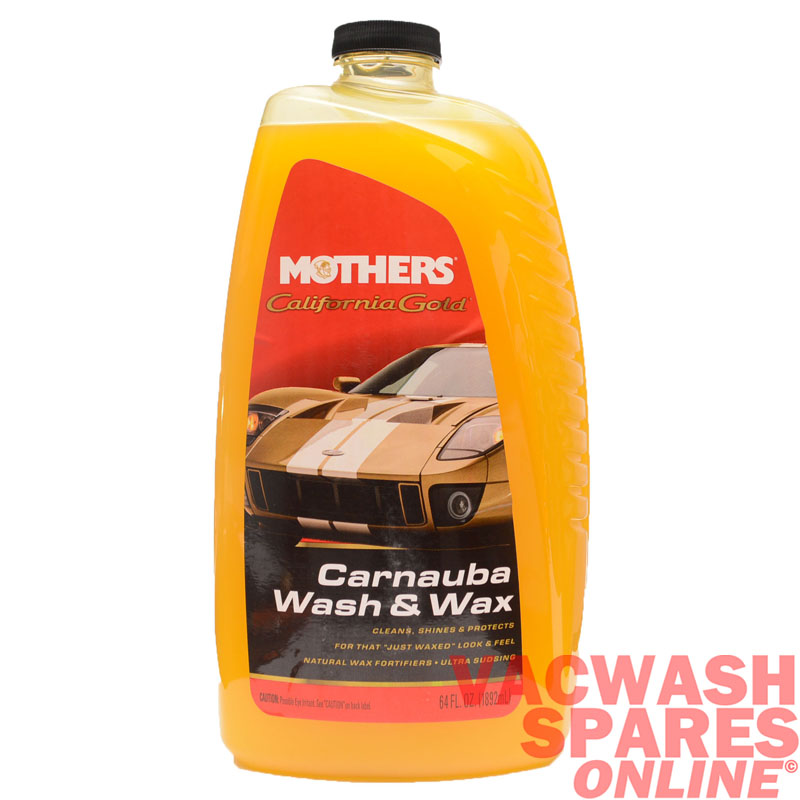 mothers california gold carnauba wash & wax
