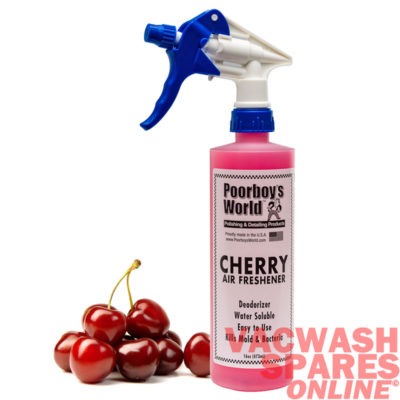 Poorboys World Cherry Scent Spray Air Freshener 473ml