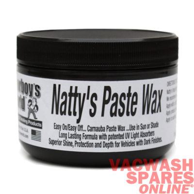 Poorboys World Natty's Paste Wax Black 8oz