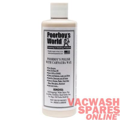 Poorboys World Polish With Carnauba Wax 473ml