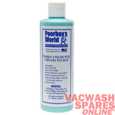 Poorboy World Polish With Carnauba Wax Blue 473ml