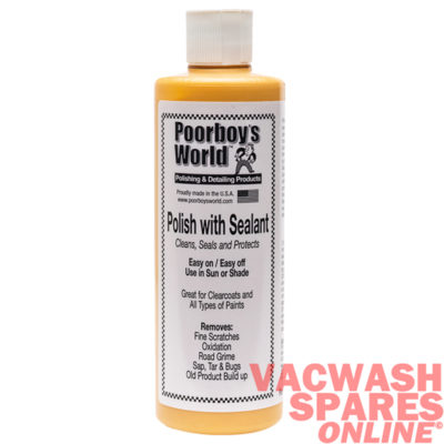 Poorboys World Polish With Sealant 473ml