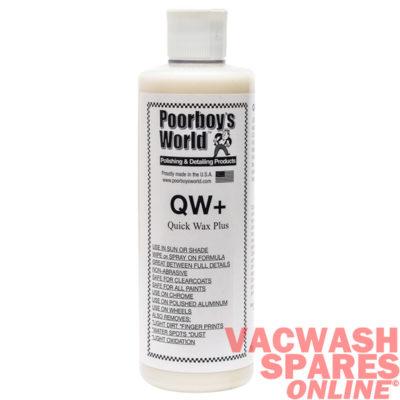 Poorboys QW+ Quick Wax Plus 473ml