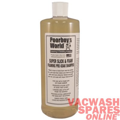 Poorboys World Super Slick & Foam Pre-Wash Shampoo