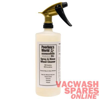 Poorboys World Spray & Rinse Wheel Cleaner 946ml