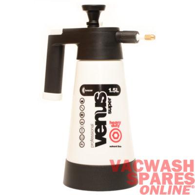 Kwazar Venus Pro Black 1.5 Litre Sprayer