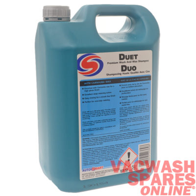 Autosmart Duet Car Wash And Wax 5 Litre