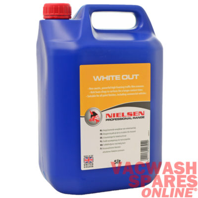 Nielsen White Out Foaming Wash 5 Litre