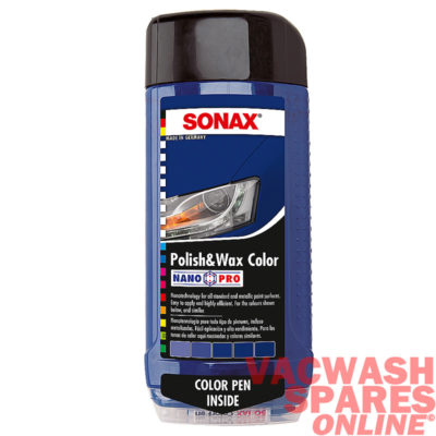 Sonax Colour Polish & Wax Blue