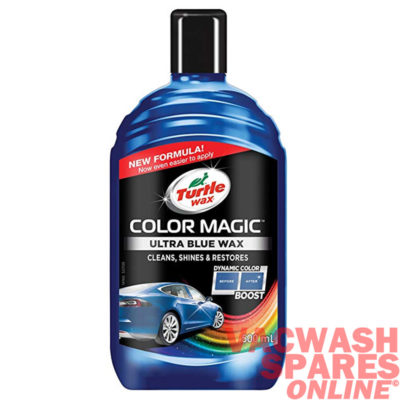 Turtle Wax Colour Magic Blue Wax