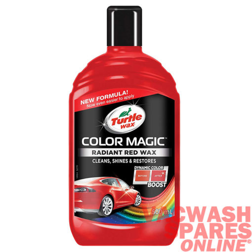 Turtle Wax Colour Magic Red Wax