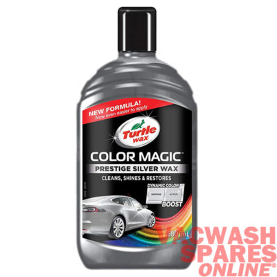 Turtle Wax Colour Magic Silver Wax