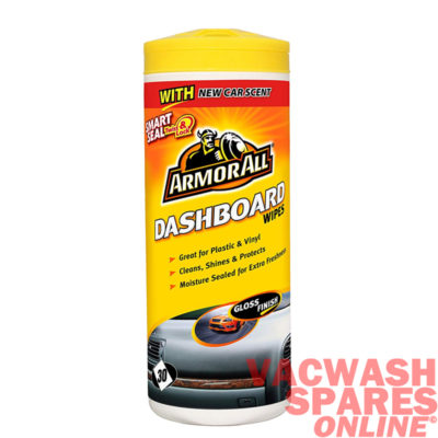 Armor All Dashboard Wipes - Gloss Finish
