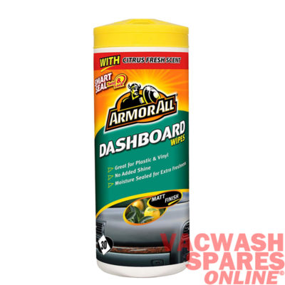 Armor All Dashboard Wipes - Matt Finish