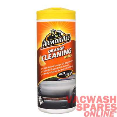 Armor All Orange Cleaning Wipes - Matt Finish