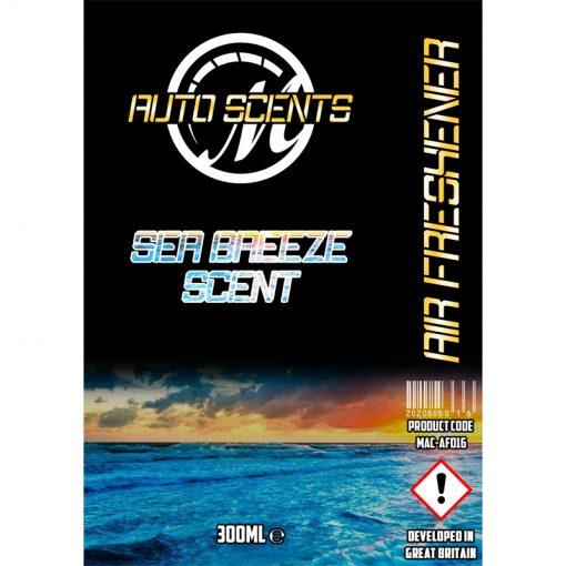 Macs Auto Scents Sea Breeze Air Freshener & Odour Eliminator
