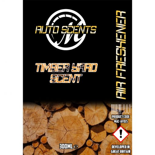 Macs Auto Scents Timber Yard Air Freshener & Odour Eliminator