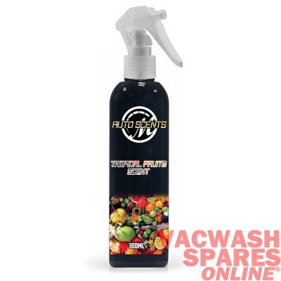 Macs Auto Scents Tropical Fruits Air Freshener & Odour Eliminator Bottle