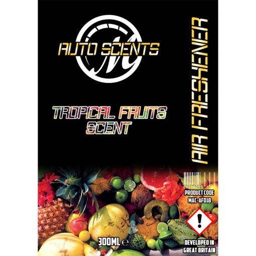 Macs Auto Scents Tropical Fruits Air Freshener & Odour Eliminator